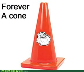 Forever a cone