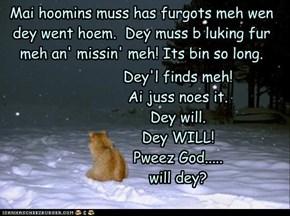 Doan frow dem away!