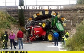 Shouldn't Have Been Driving A Deere
