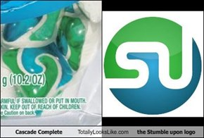 Cascade Complete Totally Looks Like the Stumble upon logo