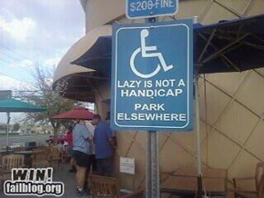 Not A Handicap WIN