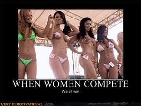 When Women Compete...