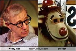 Woody Allen Totally Looks Like Drooper