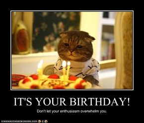 IT'S YOUR BIRTHDAY!