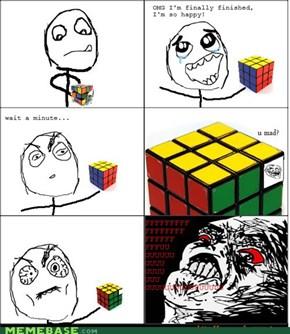 Rubix Cube Rage!
