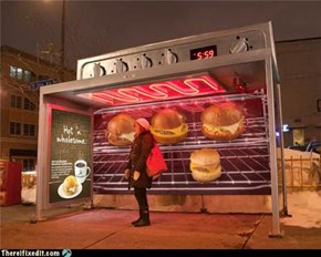 Not-A-Kludge: Working Bus Stop Heater