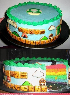 Epicute: Super Mario Birthday Cake