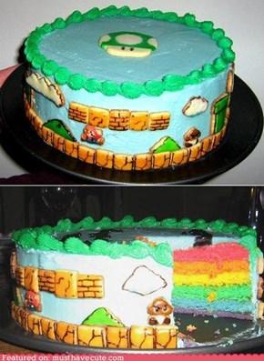 Epicute: Super Mario Birthday Cake