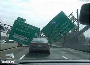 Exit Sign Fail
