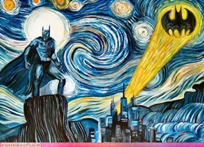 The Starry Gotham Night