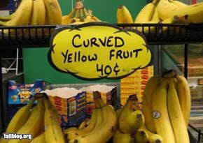 Banana Sign Fail