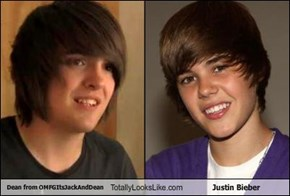 Dean from OMFGItsJackAndDean Totally Looks Like Justin Bieber