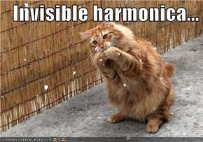 Invisible harmonica...