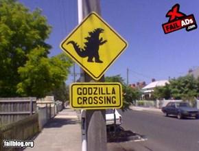Godzilla Fail