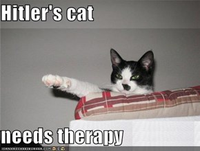 Hitler's cat  needs therapy