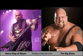 Kerry King of Slayer Totally Looks Like The Big Show