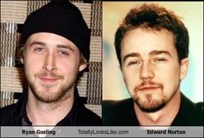Ryan Gosling Totally Looks Like Edward Norton