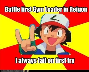 First Gym Leader