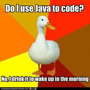Do I use Java to code?