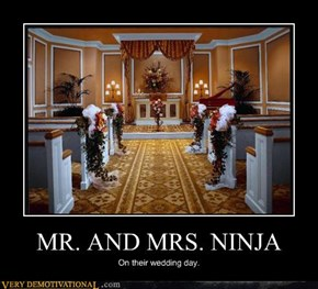 MR. AND MRS. NINJA