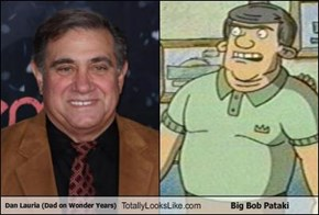 Dan Lauria (Dad on Wonder Years) Totally Looks Like Big Bob Pataki