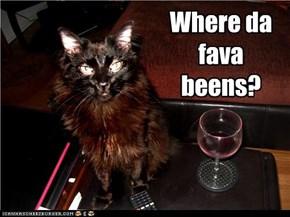 Where da fava beens?