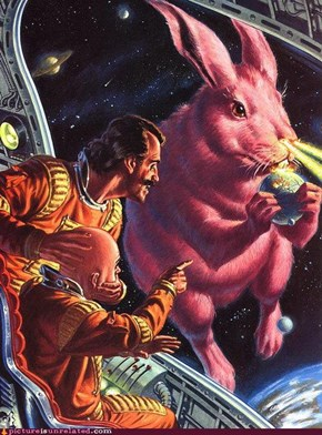 Easter Bunny Sci Fi