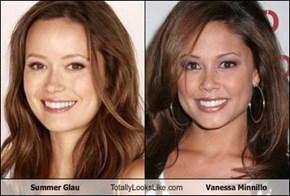 Summer Glau Totally Looks Like Vanessa Minnillo