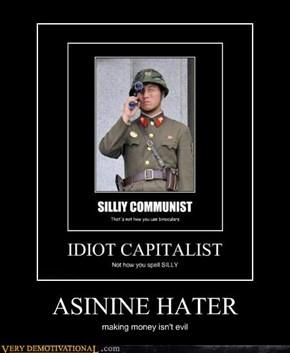 ASININE HATER