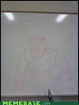 His drawing level is over 9000!