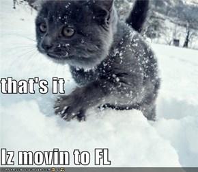 that's it Iz movin to FL