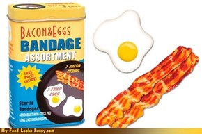 Bacon and Eggs Bandages