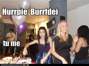 Hurrpy Burrfdei