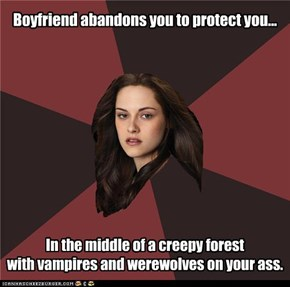 Boyfriend abandons you to protect you...
