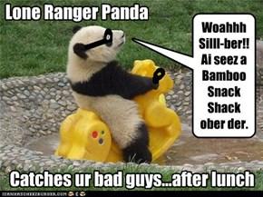 Lone Ranger Panda