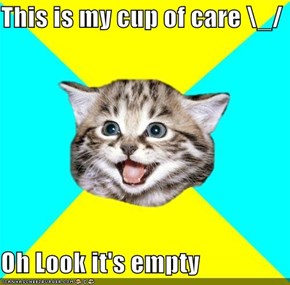 Happy Kitten: This Is My Cup of Care \_/