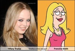 Tiffany Trump Totally Looks Like Francine Smith