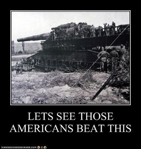 LETS SEE THOSE AMERICANS BEAT THIS