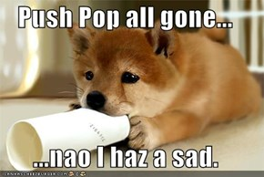 Push Pop all gone...  ...nao I haz a sad.