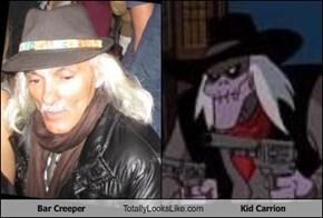 Bar Creeper Totally Looks Like Kid Carrion