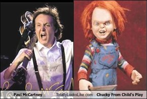 Paul McCartney Totally Looks Like Chucky From Child's Play