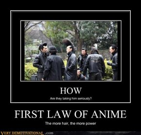 FIRST LAW OF ANIME