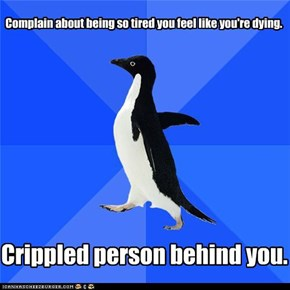Socially Awkward Penguin: Laziness never felt so guilty