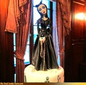 Gothic Bride Cake