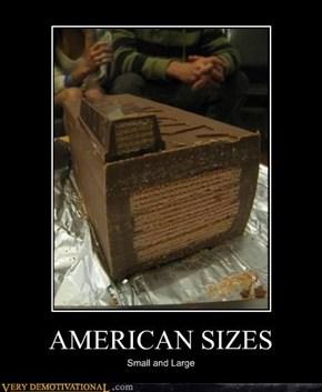 AMERICAN SIZES