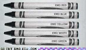 Color the Emo Rainbow