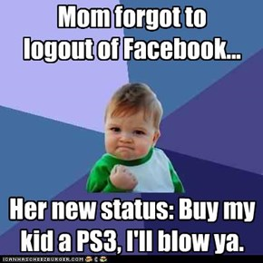 Success Kid: FB HiJack