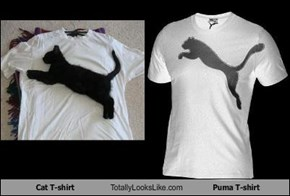 Cat T-Shirt Totally Looks Like Puma T-Shirt