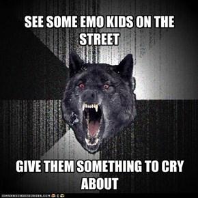 Insanity Wolf: Emo Kids