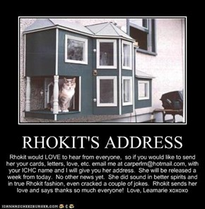 RHOKIT'S ADDRESS